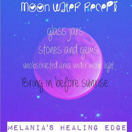 Melania's Healing Edge Moon Water