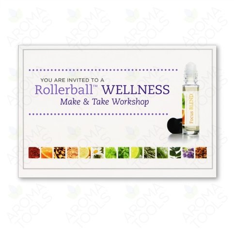 Melania's Healing Edge rollerball make and take