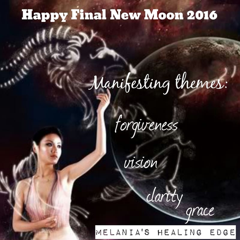 Melania's Healing Edge New Moon dec 2017